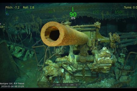 A WWII aircraft carrier was lost in the battle for Australia. A tech billionaire just found it.
