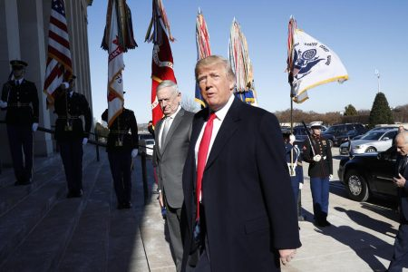 Trump floats idea of using Pentagon budget to pay for border wall