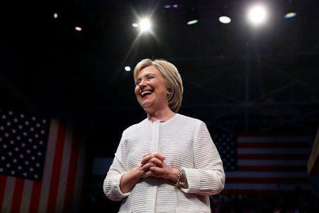 Clinton: I won places moving forward, Trump won places moving backward