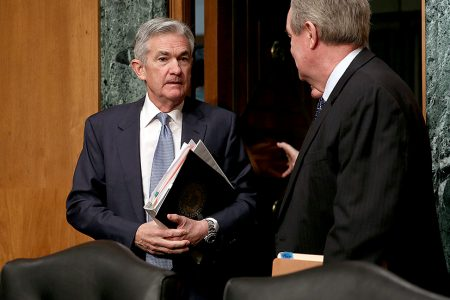Senators look to Fed chief for support on easing bank rules