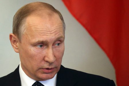Putin Criticized for Remarks Insinuating Jews and Other Minority Groups Could Be Behind US Election Interference