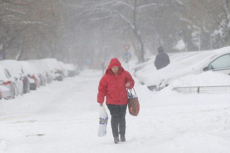 Orange Snow Hit Parts of Europe This Weekend