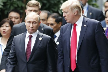 Trump to Putin: 'If you want to have an arms race we can do that, but I'll win': report