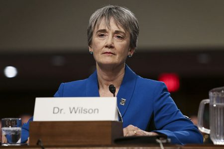 Air Force leaders sidestep question on Trump's 'space force'