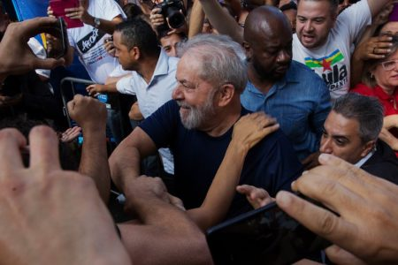 Ex-President 'Lula' of Brazil Surrenders to Serve 12-Year Jail Term