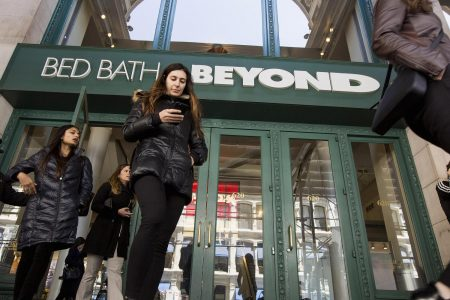 Bed Bath & Beyond shares head for worst one-day loss ever on weak outlook