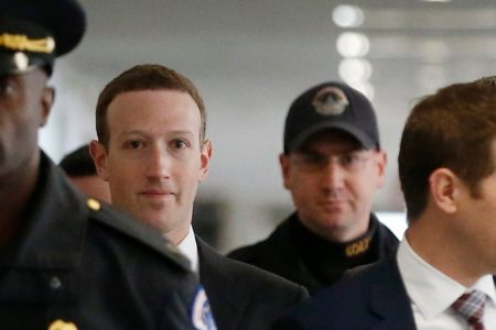 Mark Zuckerberg Meets With Top Lawmakers Before Hearings