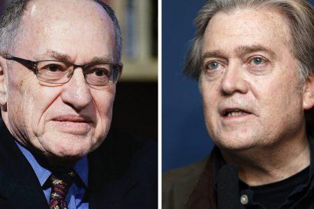 Alan Dershowitz and Steve Bannon Offer Trump Advice on Crippling Mueller