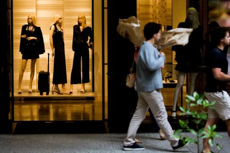 US Growth Cools to 2.3% as Gains in Consumer Spending Ease