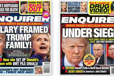 Investigators Focus on Another Trump Ally: The National Enquirer