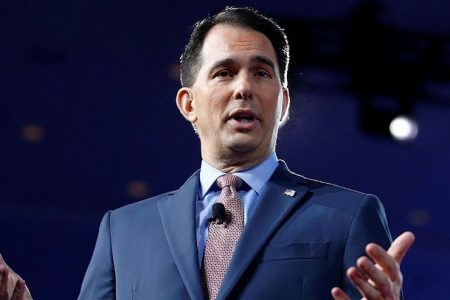 Wisconsin's GOP governor warns of 'Blue Wave' as liberal wins court seat