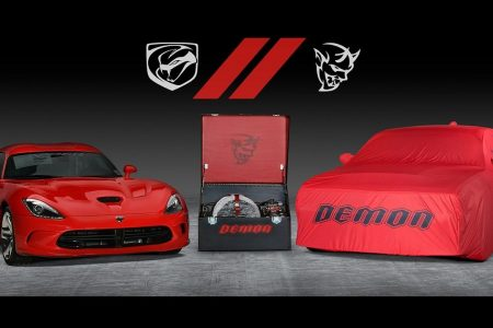 Final Dodge Viper and Challenger SRT Demon to be auctioned together for charity