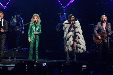 Little Big Town's outfits for Elton John tribute at ACM Awards mocked by fans