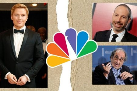 NBC humiliated when Ronan Farrow wins Pulitzer for Weinstein expose after Peacock passed