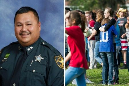 Florida school resource officer hailed a hero after responding quickly to shooting that injured one student