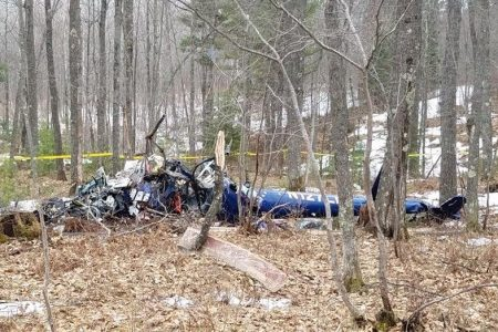 Three dead in medical helicopter crash in Wisconsin, sheriff says