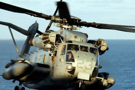Marine helicopter crashes in California and kills 4