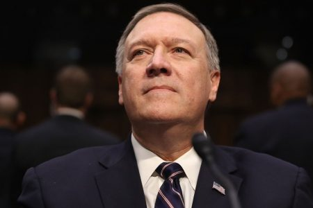 Pompeo faces Democratic headwinds in bid to be top US diplomat