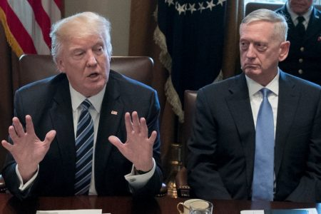 Trump gets testy as national security team warns of risks of Syria withdrawal