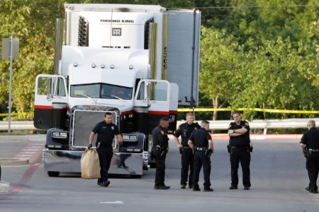Truck driver gets life sentence for role in death of 10 immigrants in Texas