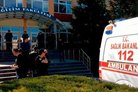 Four killed in Turkey university shooting