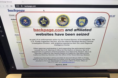 Backpage.com CEO admits guilt in plea deal with feds, states