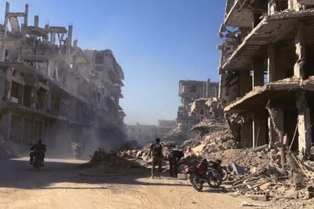 Syria denies claims of deadly gas attack in eastern Ghouta