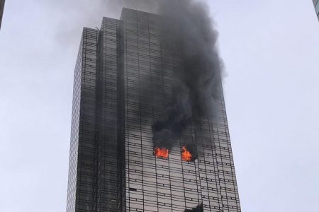 There was no working smoke alarm in the Trump Tower apartment where deadly fire started, source says