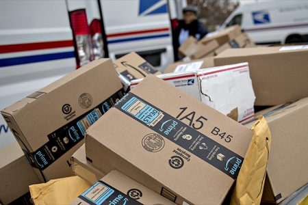 Trump orders Postal Service review after attacking Amazon
