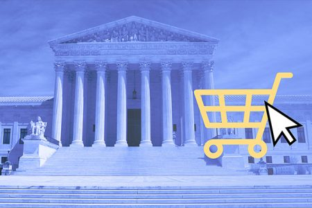 Battle over sales taxes on online purchases heads to Supreme Court