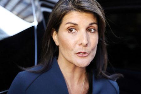 Haley sets a red line for Trump