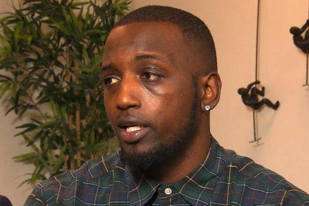 Video shows former football player involved in violent arrest