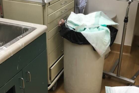 Veteran's photos of dirty VA clinic room go viral, prompts apology