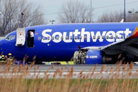 A Southwest Airlines Engine Explodes, Killing a Passenger