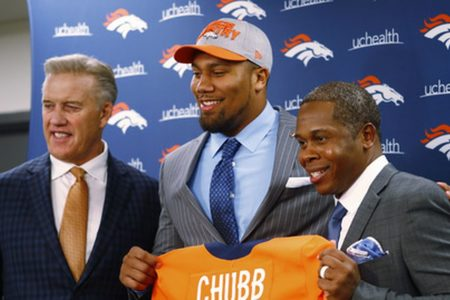 Elway goes with maturity, experience in 2018 NFL draft