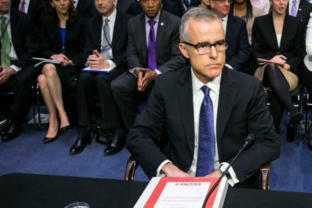 McCabe Report Is Sent to Prosecutors to Weigh Possible Criminal Inquiry