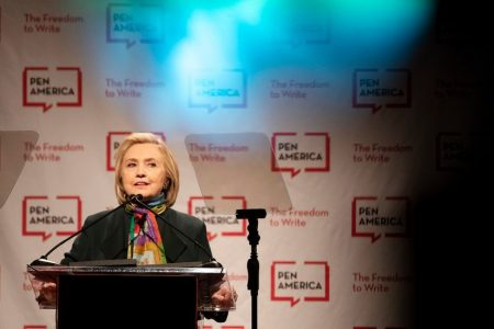 Hillary Clinton Avoids Direct Reference to Comey Memos in Speech