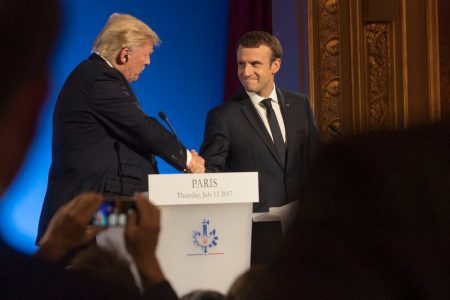 Emmanuel Macron Heads to White House to Lobby Trump on Iran