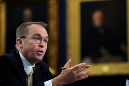 Mulvaney, Watchdog Bureau's Leader, Advises Bankers on Ways to Curtail Agency