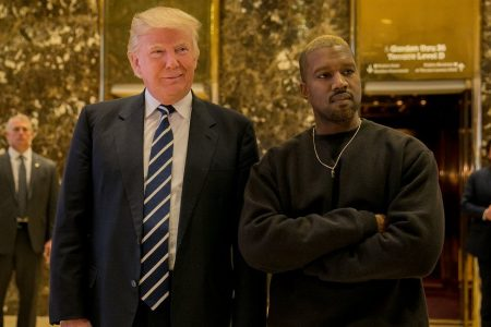 Trump and Kanye West Share Praise-Filled Tweets. And, Apparently, 'Dragon Energy.'