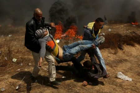 Plan to Storm Fence Gets Bloody Preview in Gaza