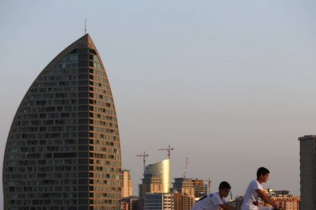 Tower Once Tied to Trump Burns in Azerbaijan, Injuring at Least 4
