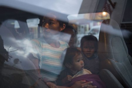 At the US border, a diminished migrant caravan readies for an unwelcoming reception