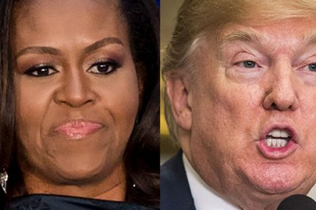 Michelle Obama Uses Parenting Metaphor To Describe Donald Trump's Presidency