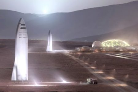 SpaceX just got approval to build Mars spaceships in Los Angeles from the city's mayor