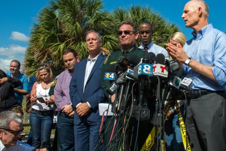 Florida police want to seize man's guns under new law inspired by Parkland shooting