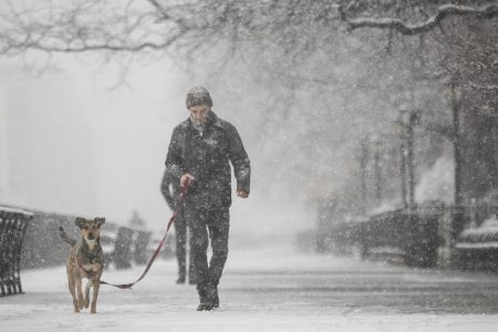 Spring snowstorm wallops Northeast