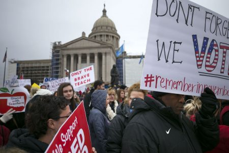 'Tired of begging': Teacher rebellion shuts down Okla., Ky. schools