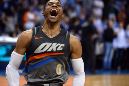 Thunder broadcaster suspended for 'cotton-picking' comment about Russell Westbrook