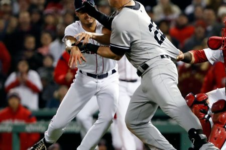Red Sox-Yankees brawl: MLB suspends pitcher Joe Kelly 6 games, DH Tyler Austin 5 games